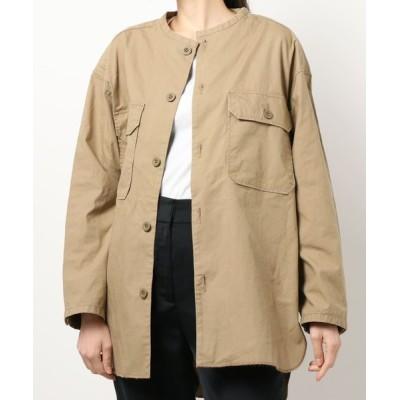 RNA MEDIA / J1968 ミリタリーフィールドシャツジャケット WOMEN ジャケット/アウター > テーラードジャケット