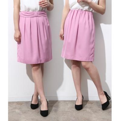【ロペピクニック/ROPE' PICNIC】 【2WAY】ギャザーリボンスカート