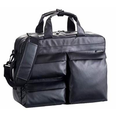 ビジネスバッグ ビジネスリュック メンズ ショルダーバッグ B4 PC収納 撥水 軽量 ブリーフケースル 黒 ブラック 通勤 ビジネス 横幅38cm