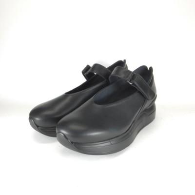 コンポジションスポーツ COMPOSITION SPORTS 1012 B クロ コンフォートパンプス ストラップ 厚底靴 歩きやすい靴 レディース 立ち仕事 疲れない靴 履きやすい靴