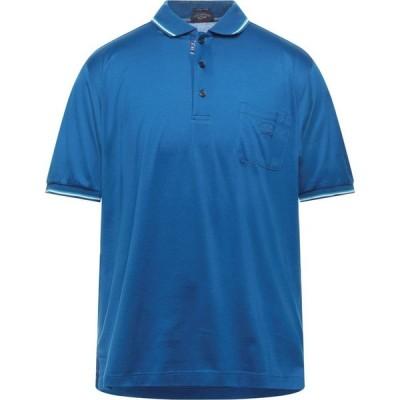 ポール シャーク PAUL & SHARK メンズ ポロシャツ トップス Polo Shirt Blue