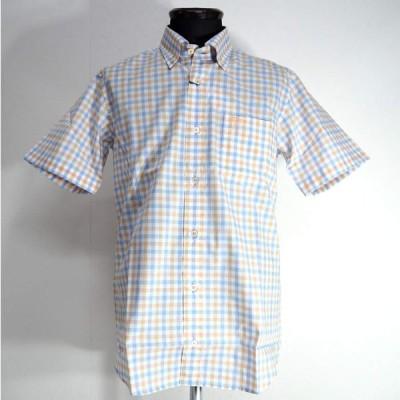 Vittorio Carini ボタンダウンシャツ 半袖 メンズ ファッション 服 カジュアル 日本製 春夏