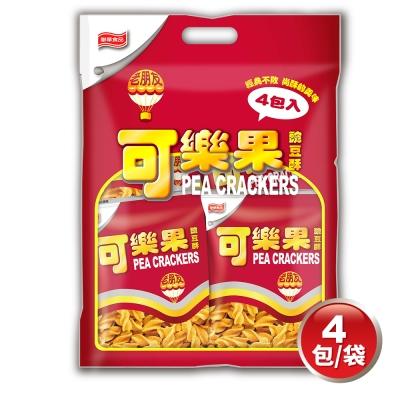 可樂果 豌豆酥-古早味量販包(57gx4包)