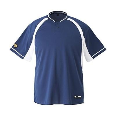 DESCENTE(デサント) JDB-103B カラー:NVSW サイズ:150 ジュニア 2ボタンベースボールシャツ
