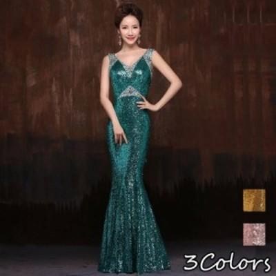 パーティードレス ロング丈 パーティードレス 大きいサイズ ワンピース ドレス ロング ワンピース マキシ ワンピース ロング ドレス 20代