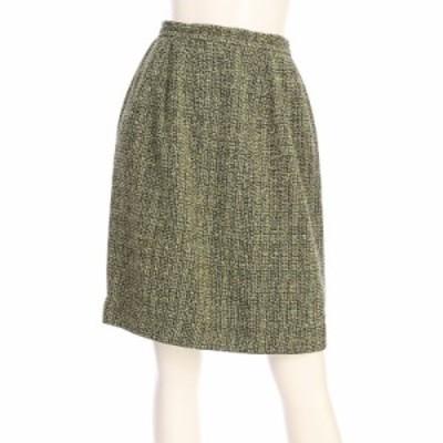 トラサルディー TRUSSARDI スカート サイズML M レディース グリーン系 タイトスカート【中古】20210319