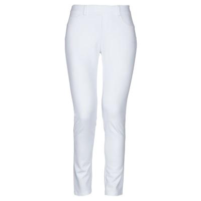 ブルマリン BLUMARINE パンツ ホワイト 42 レーヨン 84% / ナイロン 11% / ポリウレタン 5% パンツ