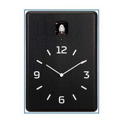 Lemnos CUCU カッコー時計 ブラック LC10-16 BK[並行輸入品]