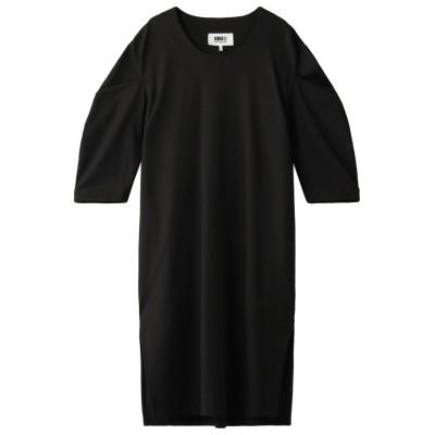 MM6 Maison Margiela エムエム6 メゾン マルジェラ ボリュームスリーブドレス レディース ブラック M