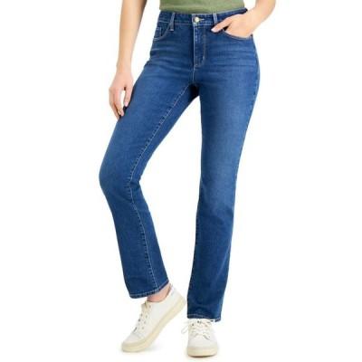 チャータークラブ レディース デニムパンツ ボトムス Lexington Straight-Leg Jeans