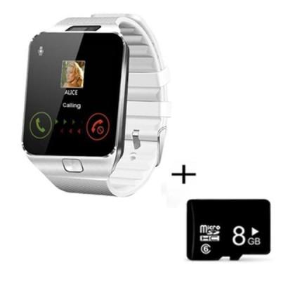 デジタルタッチスクリーンスマート腕時計DZ09 Q18ブレスレットカメラbluetooth腕時計simカードスマートウォッチiosのandroid携帯