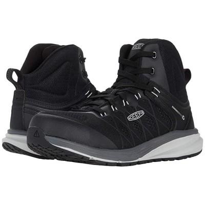 Keen Utility Vista Energy Mid メンズ スニーカー 靴 シューズ Vapor/Black