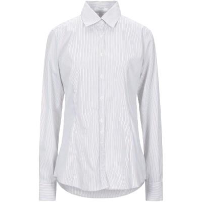 アリーニ AGLINI シャツ ライトグレー XS コットン 74% / ナイロン 23% / ポリウレタン 3% シャツ
