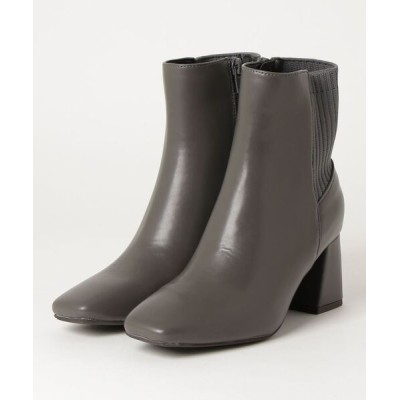 chumchum / SUGAR SUGAR /スクエアトゥニットブーツ WOMEN シューズ > ブーツ