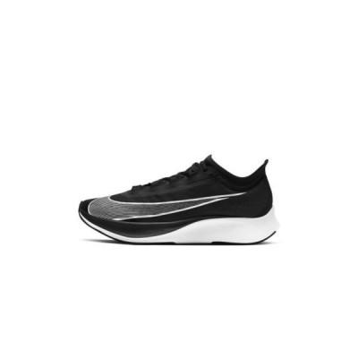 ナイキ メンズ スポーツ用品 ZOOM FLY 3 - Neutral running shoes - black/volt/white