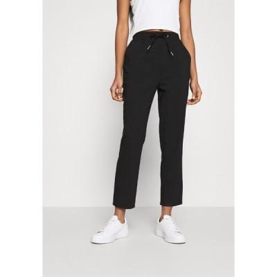 エブンアンドオッド カジュアルパンツ レディース ボトムス Smart Stretch Business Jogger - Trousers - black