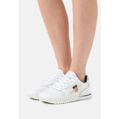 ガント レディース 靴 シューズ BEJA - Trainers - bright white/offwhite