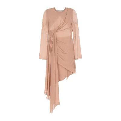 OFF-WHITE™ ミニワンピース&ドレス ライトブラウン 46 シルク 100% ミニワンピース&ドレス
