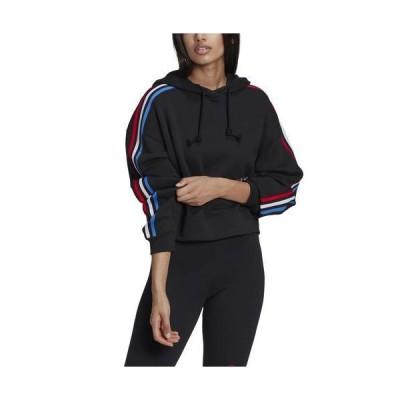 (取寄)アディダス オリジナルス レディース パーカー フーディ adidas originals Women's Hoodie Black 送料無料
