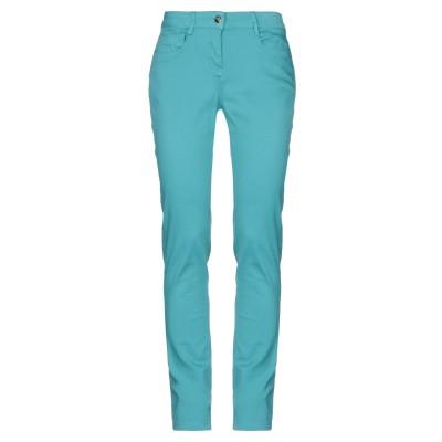 DEK'HER パンツ ターコイズブルー 26 コットン 98% / ポリウレタン 2% パンツ