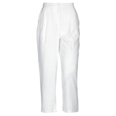 SOALLURE パンツ ホワイト 38 レーヨン 90% / ポリエステル 10% パンツ