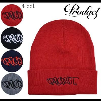PRODUCT CLASSICS プロダクトクラシックス TAG KNIT CAP ニット帽 ビーニー 単品購入はネコポス便発送 売り尽くし