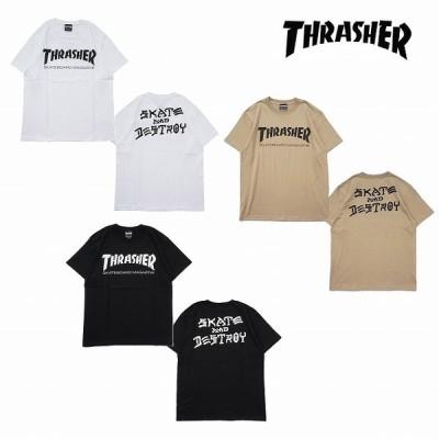 スラッシャー Tシャツ メンズ THRASHER MAG and DESTROY S/S T-SHIRTS