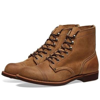 """レッドウィング Red Wing メンズ ブーツ シューズ・靴 8083 Heritage 6"""" Iron Ranger Boot Hawthorne Muleskinner"""