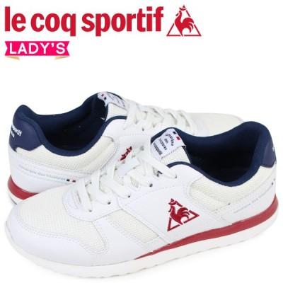 ルコック スポルティフ le coq sportif レディース スニーカー 白 LA セーヌ SEINE ホワイト QFM-7303WN