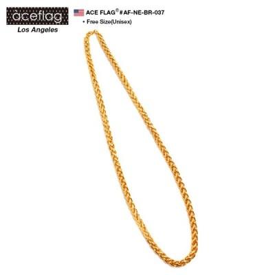 ゴールドチェーン ネックレス エースフラッグ ACEFLAG