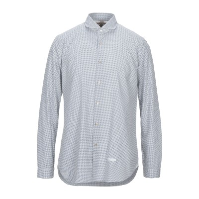 DNL シャツ ライトグレー 41 コットン 100% / ナイロン シャツ