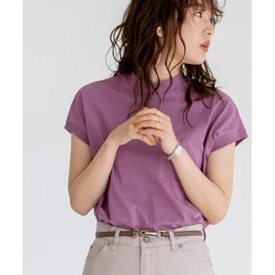 (coen/コーエン)【WEB限定カラー】リピT・機能付きハイネックTシャツ#/レディース LILAC