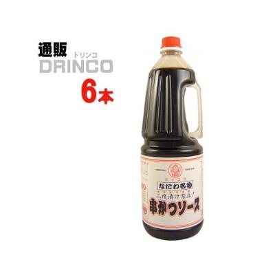 ソース なにわ名物 串かつソース 1.8L ペットボトル 6 本 ( 6 本 × 1 ケース ) 大黒屋
