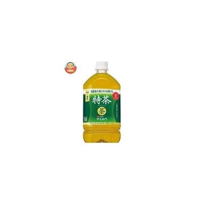 サントリー 緑茶 伊右衛門(いえもん) 特茶【特定保健用食品 特保】 1Lペットボトル×12本入