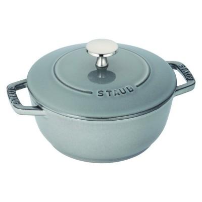 ストウブ 40501-002 Wa-NABE S グレー 調理器具