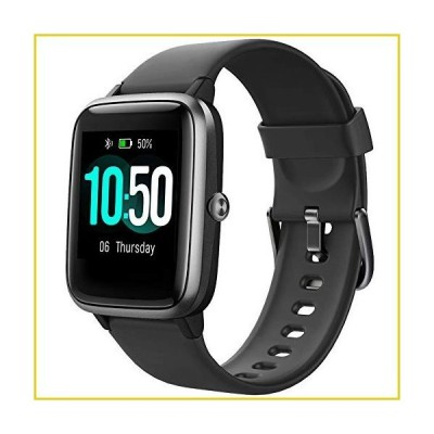 YAMAY Smart Watch Fitness Tracker Watches for Men Women, Fitness Watch Heart Rate Monitor IP68 Waterproof Watch with Step Calories Sleep Tra