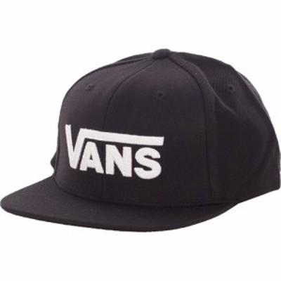 ヴァンズ Vans ユニセックス キャップ 帽子 - Drop V II Black/White - Cap black