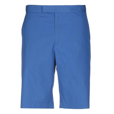ジル サンダー JIL SANDER バミューダパンツ ブルー 48 コットン 100% バミューダパンツ
