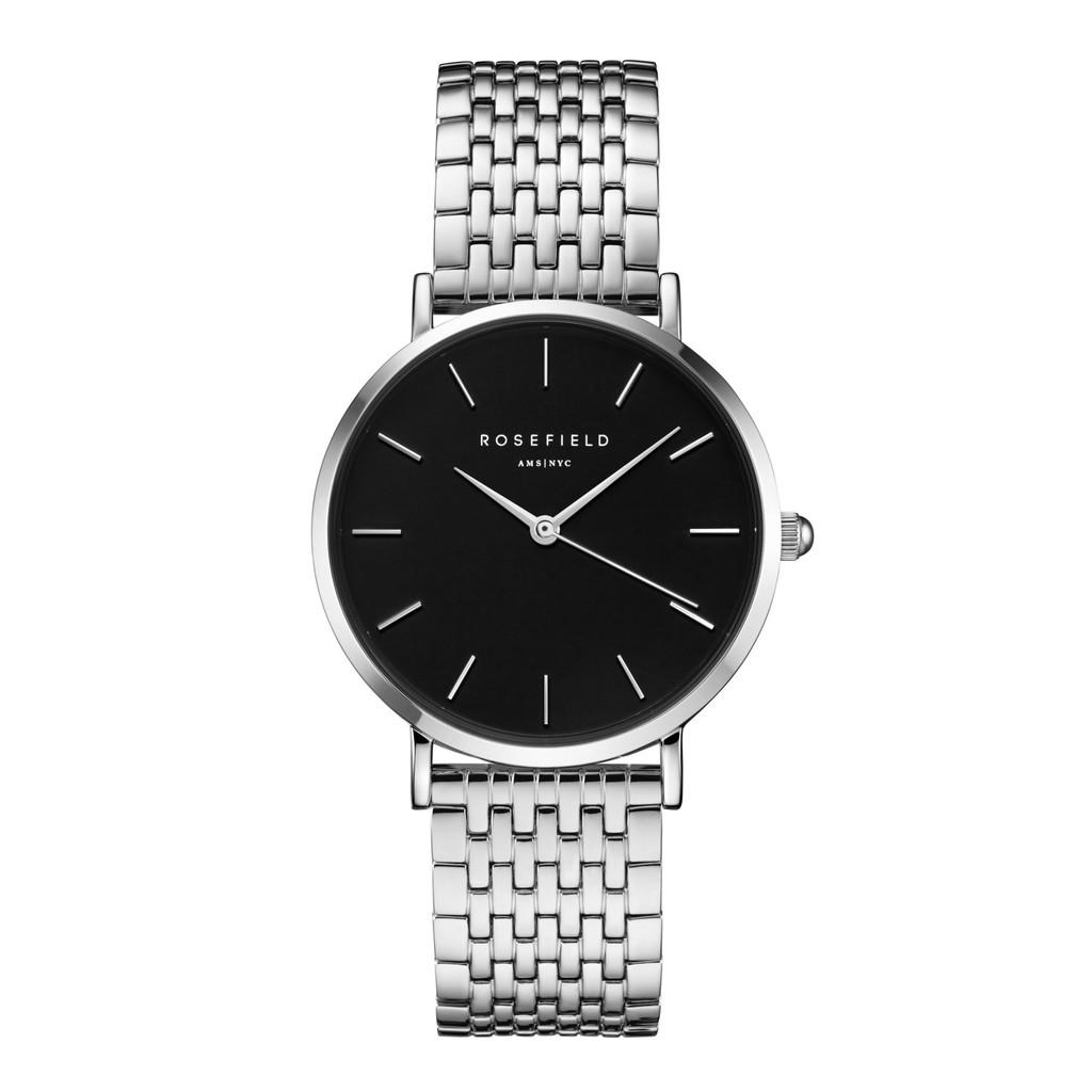 ROSEFIELD荷蘭設計師品牌手錶   The Upper East Side Ø 33mm-白鋼x黑UEBS-U25