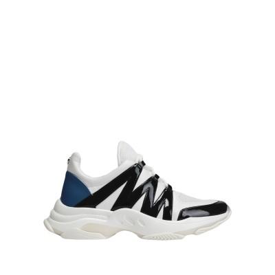 スティーブ マデン STEVE MADDEN スニーカー&テニスシューズ(ローカット) ホワイト 8.5 ポリウレタン / 紡績繊維 スニーカー&テ