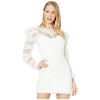 バルドー Bardot レディース ワンピース ワンピース・ドレス Lana Lace Dress Ivory