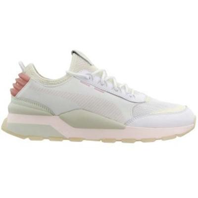 プーマ メンズ スニーカー シューズ RS-0 Tracks Lace Up Sneakers Puma White / Marshmallow