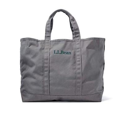 L.L.Bean(エルエルビーン) トートバッグ グローサリー・トート キャンバス Platinum グレー 1000036744