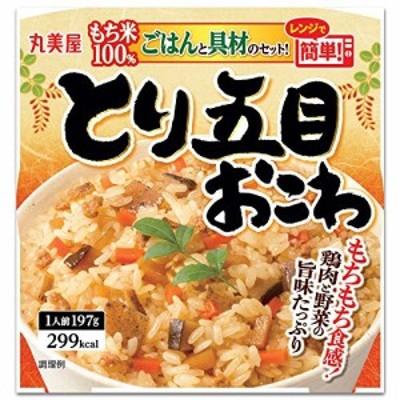 【丸美屋食品】とり五目おこわもち米ごはん付き×6食