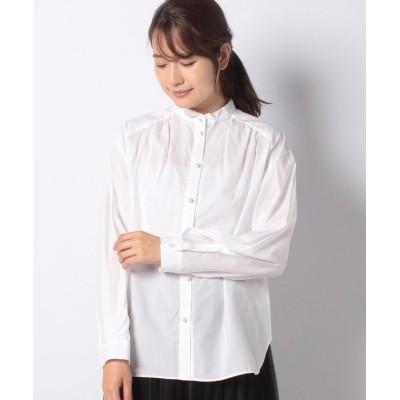 【アクータ】 タイプライタ―ウイングカラーシャツ レディース ホワイト F Acuta