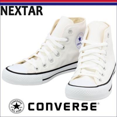 CONVERSE NEXTAR110 HI 白 コンバース スニーカー ネクスター110 ハイカット シューズ 32765010