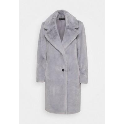エスプリ コート レディース アウター Winter coat - light grey