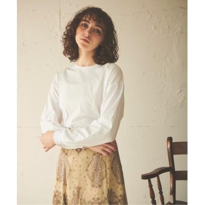 【エマリンバー】 Over Size Long T-shirt レディース オフ白 FREE EMMA LIMBER