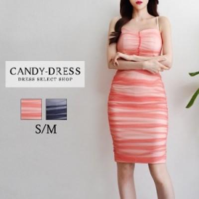 【予約】S/M 送料無料 Luxury Dress チュールレイヤードシャーリングデザインノースリーブタイト膝丈ドレス RB200606  韓国ドレス 韓国ド