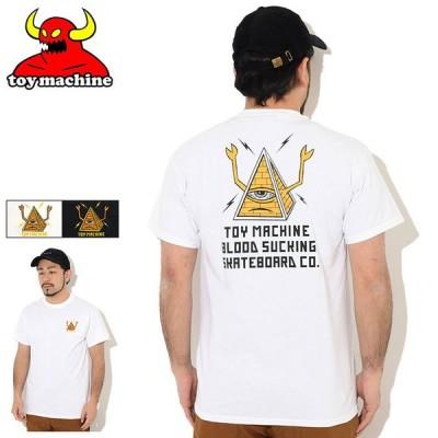 トイマシーン Tシャツ 半袖 TOY MACHINE メンズ ピラミッド セクト EMB ( Pyramid Sect EMB S/S Tee T-SHIRTS カットソー トップス TMSBST3 )